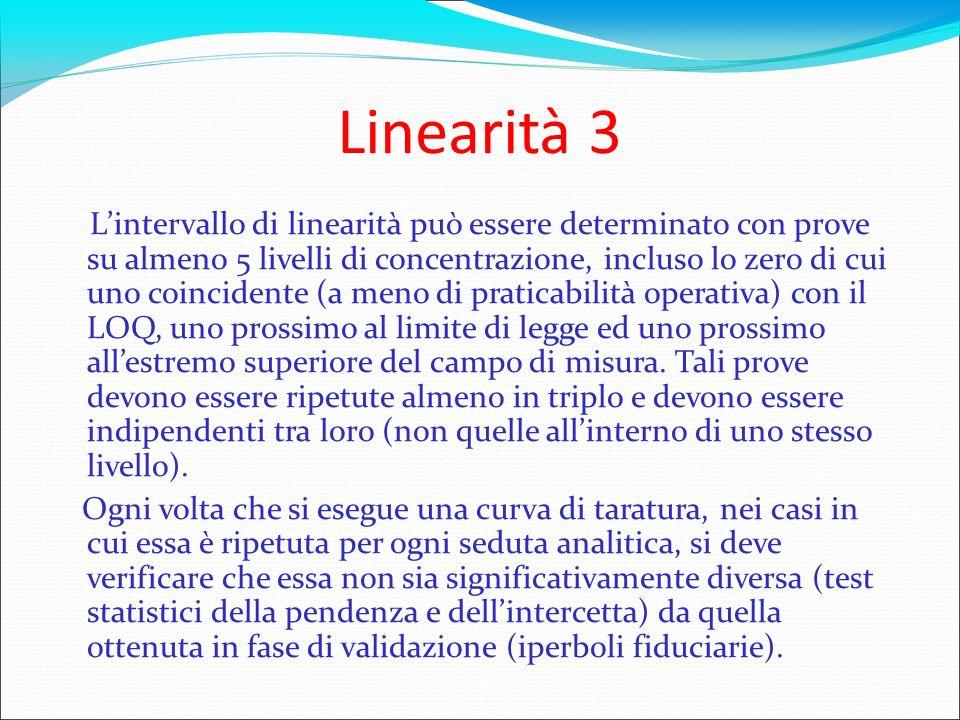 Linearità 3