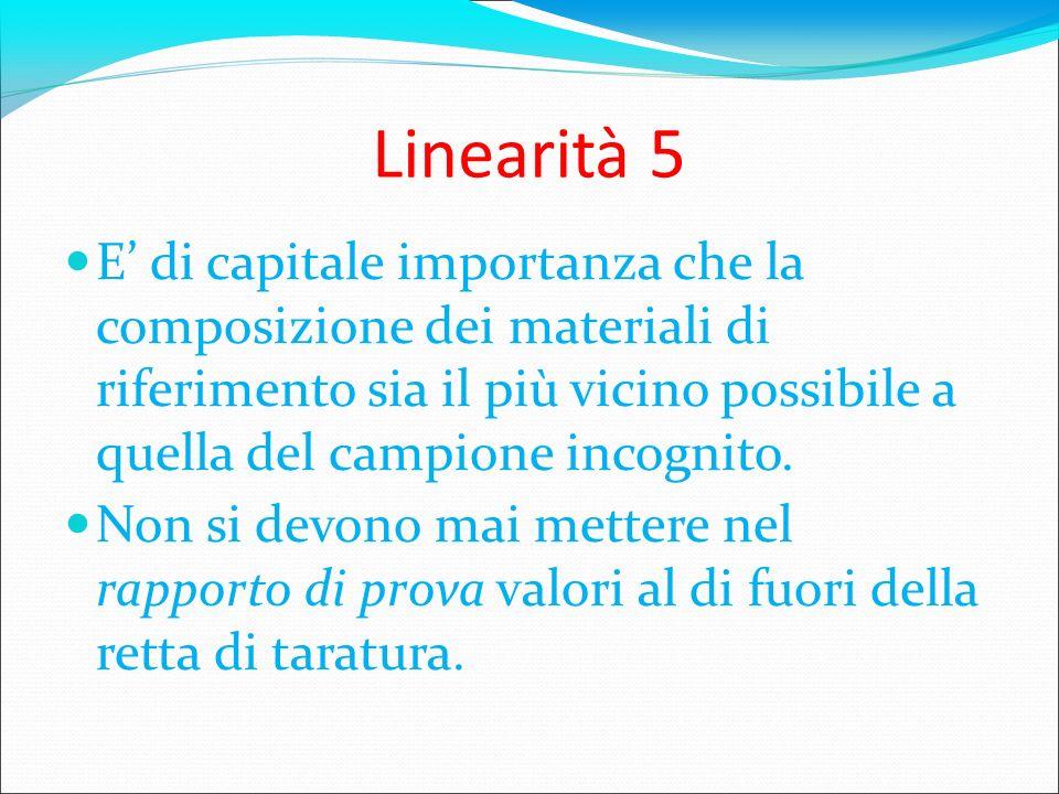 Linearità 5