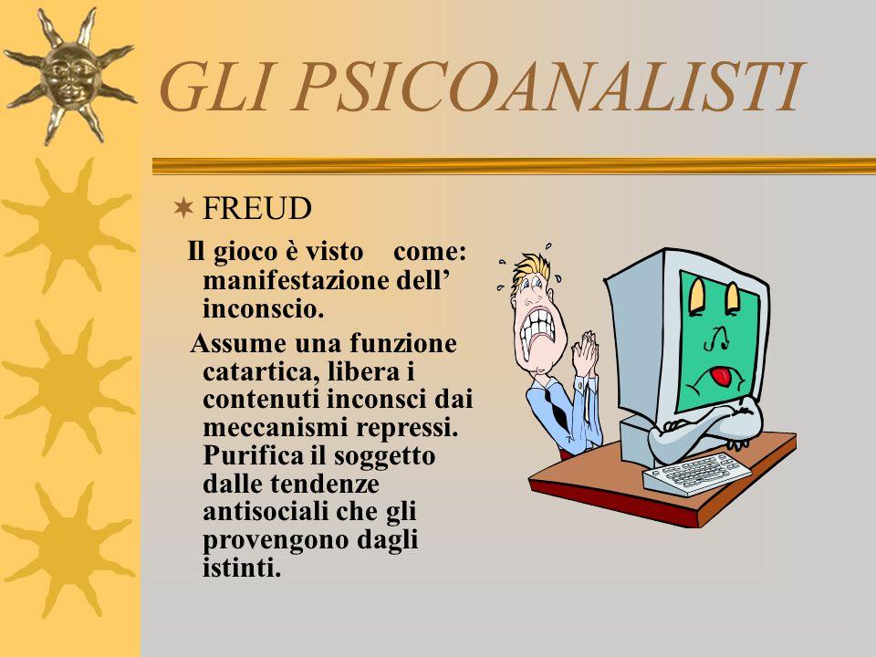 GLI PSICOANALISTI FREUD