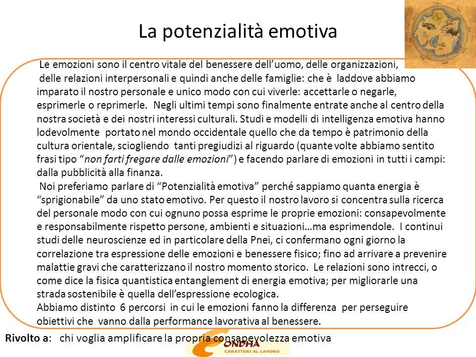 La potenzialità emotiva