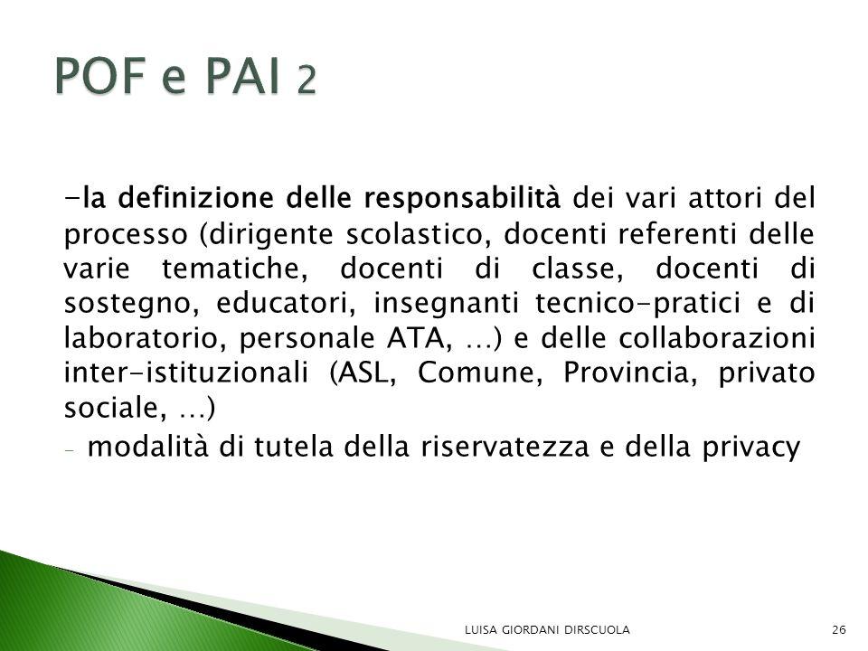 POF e PAI 2