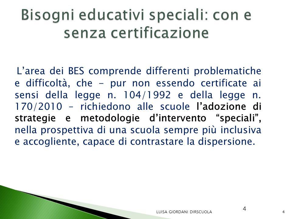 Bisogni educativi speciali: con e senza certificazione