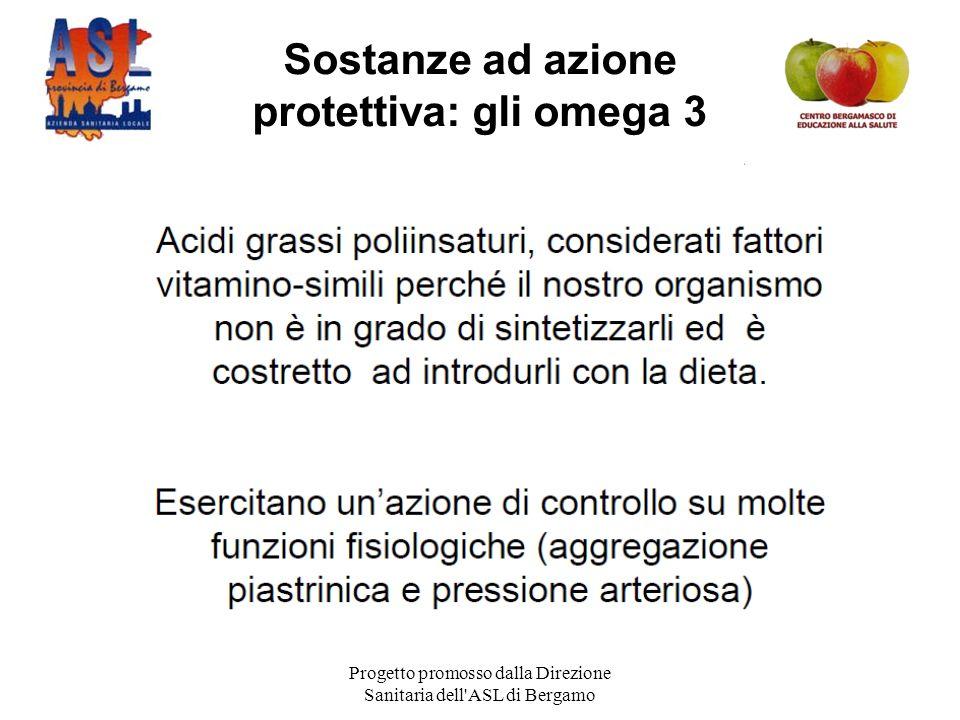 Sostanze ad azione protettiva: gli omega 3