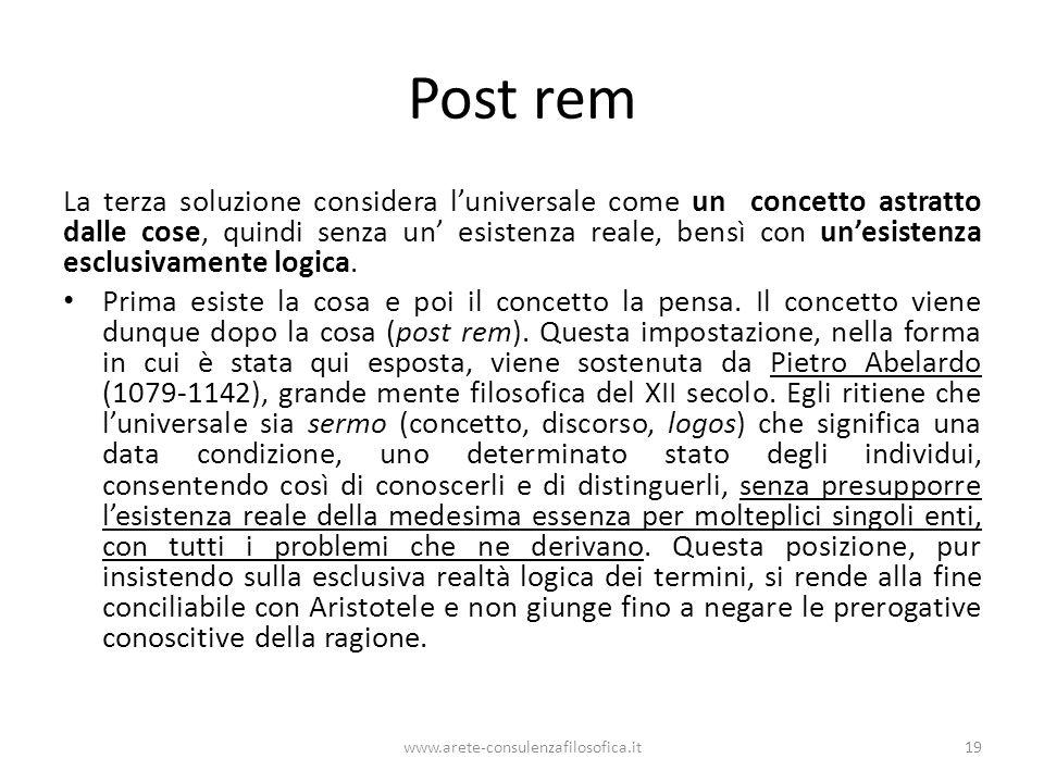 Post rem