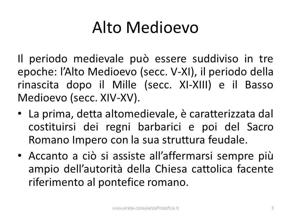 Alto Medioevo