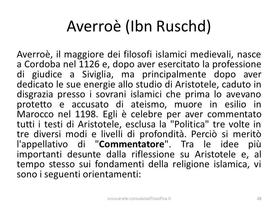 Averroè (Ibn Ruschd)