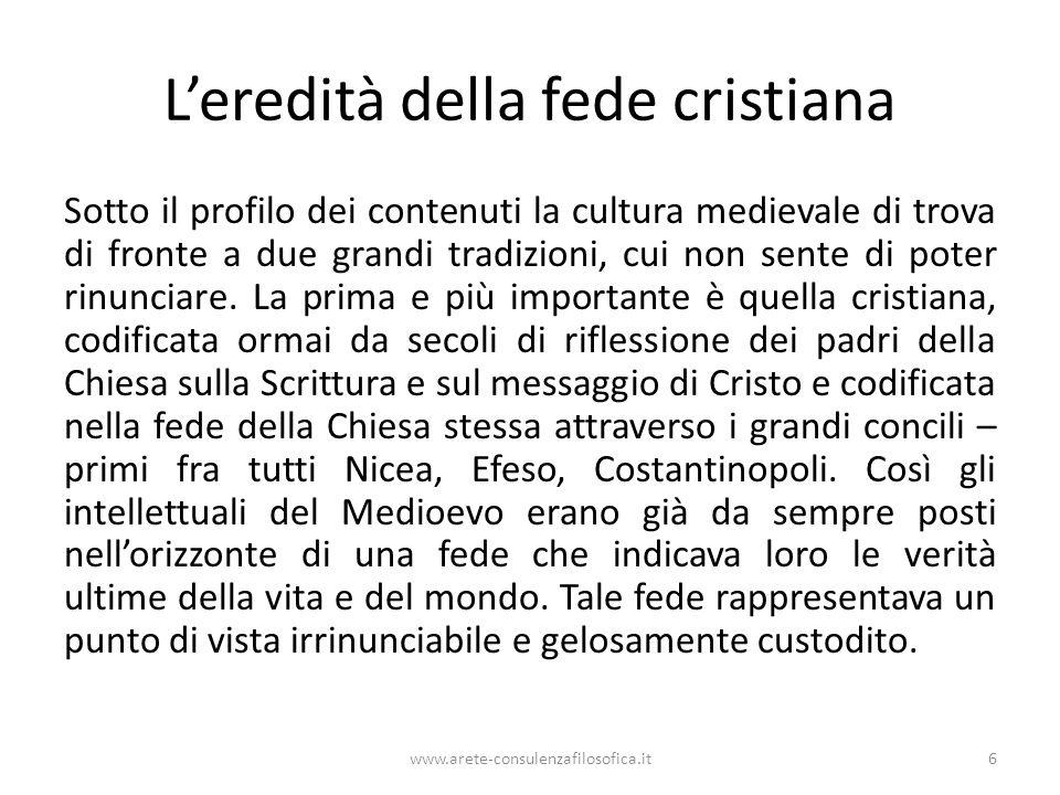 L'eredità della fede cristiana