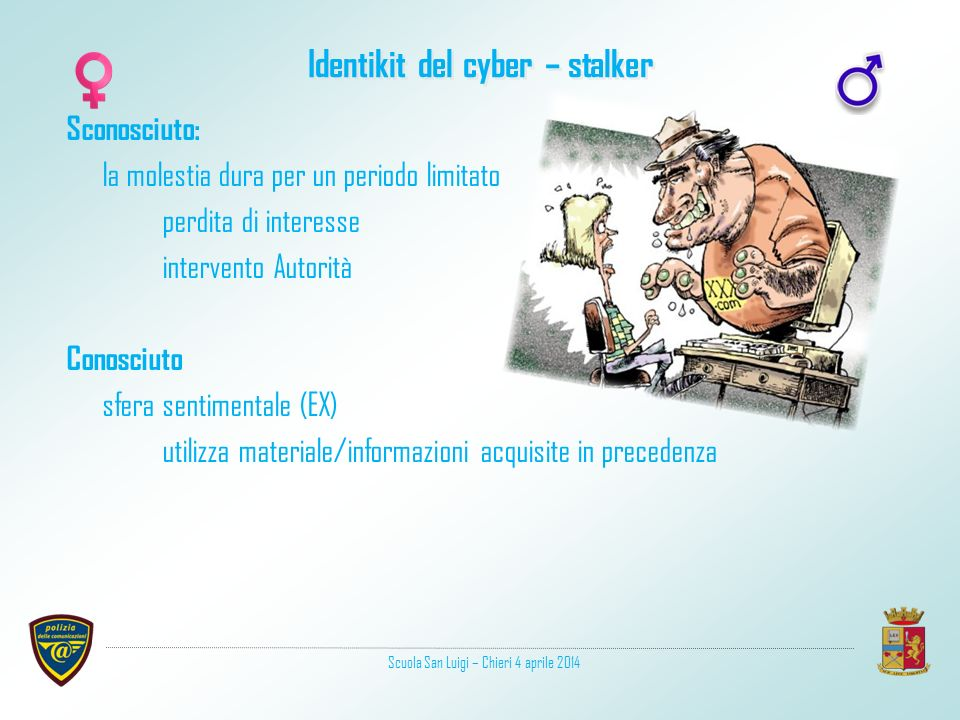Identikit del cyber – stalker