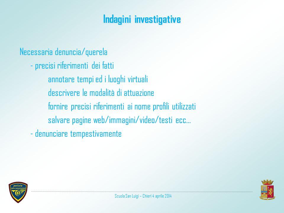 Indagini investigative