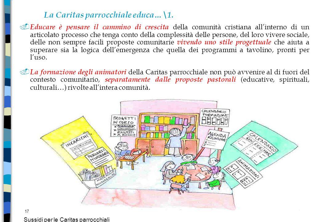La Caritas parrocchiale educa…\1.