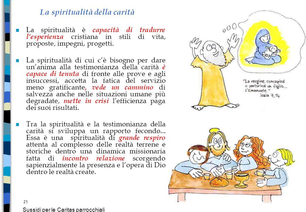 La spiritualità della carità