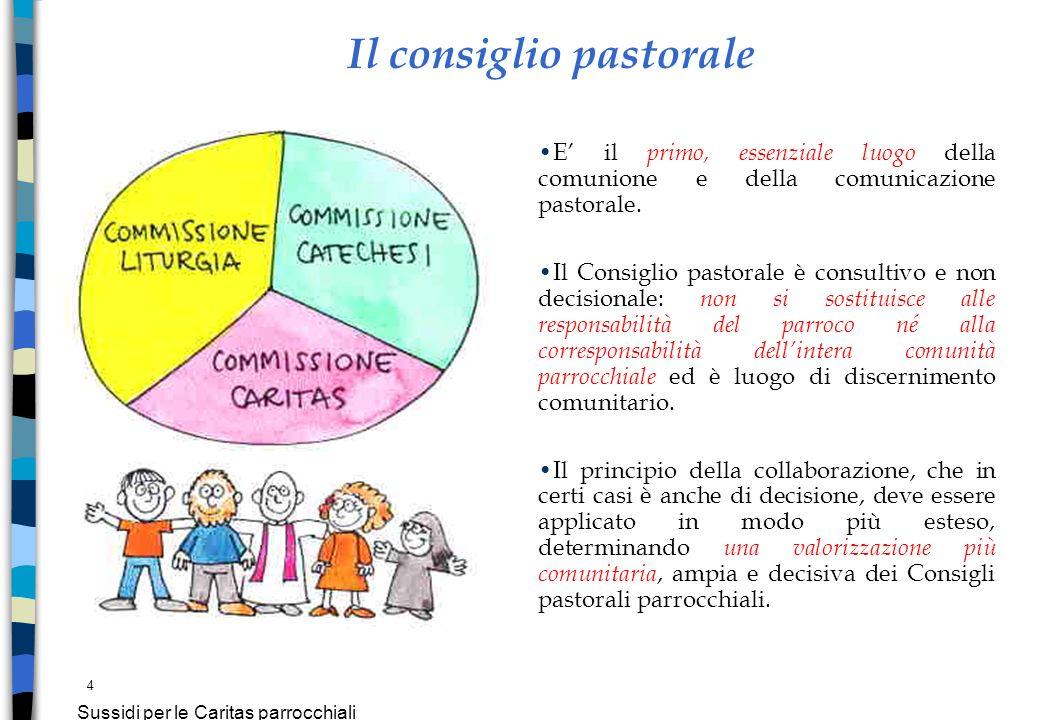 Il consiglio pastorale