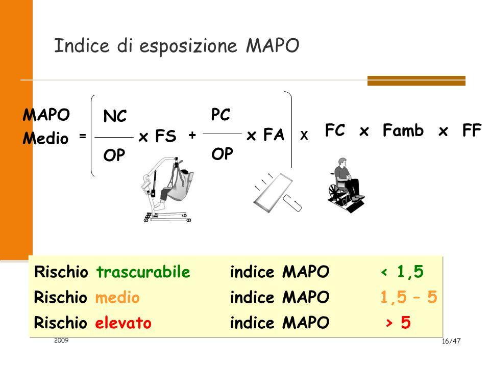 Indice di esposizione MAPO