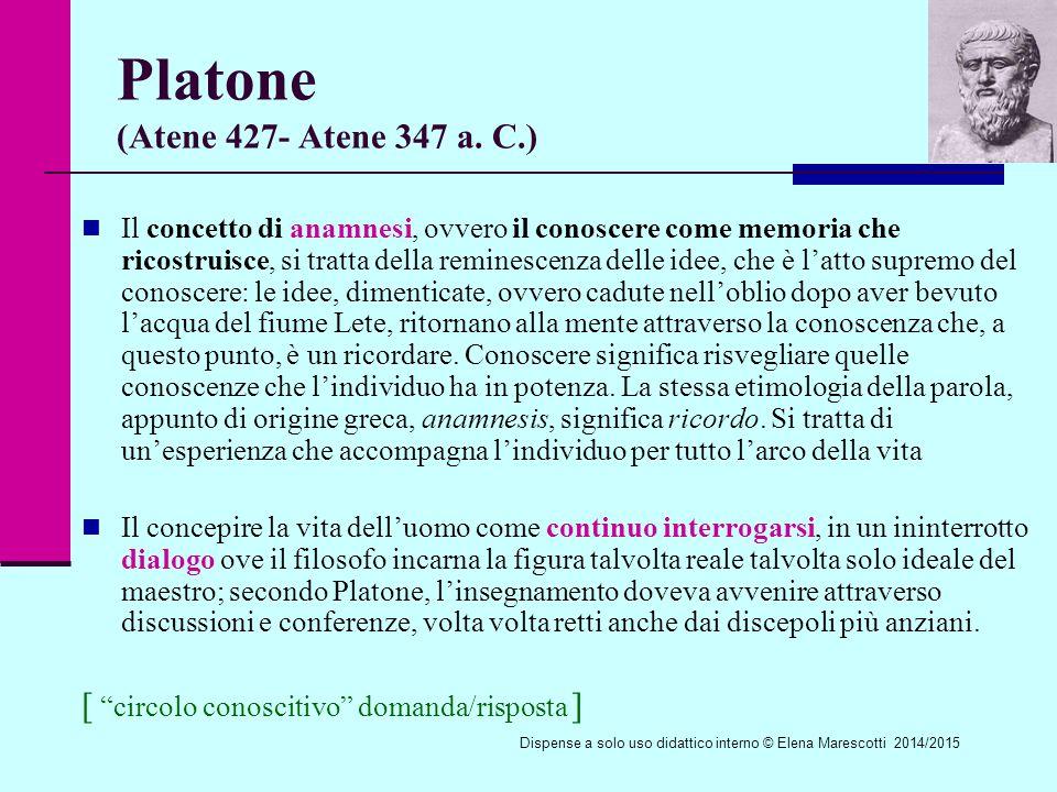Platone (Atene 427- Atene 347 a. C.)
