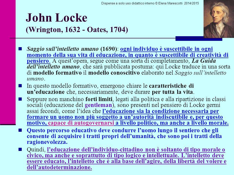 John Locke (Wrington, 1632 - Oates, 1704)