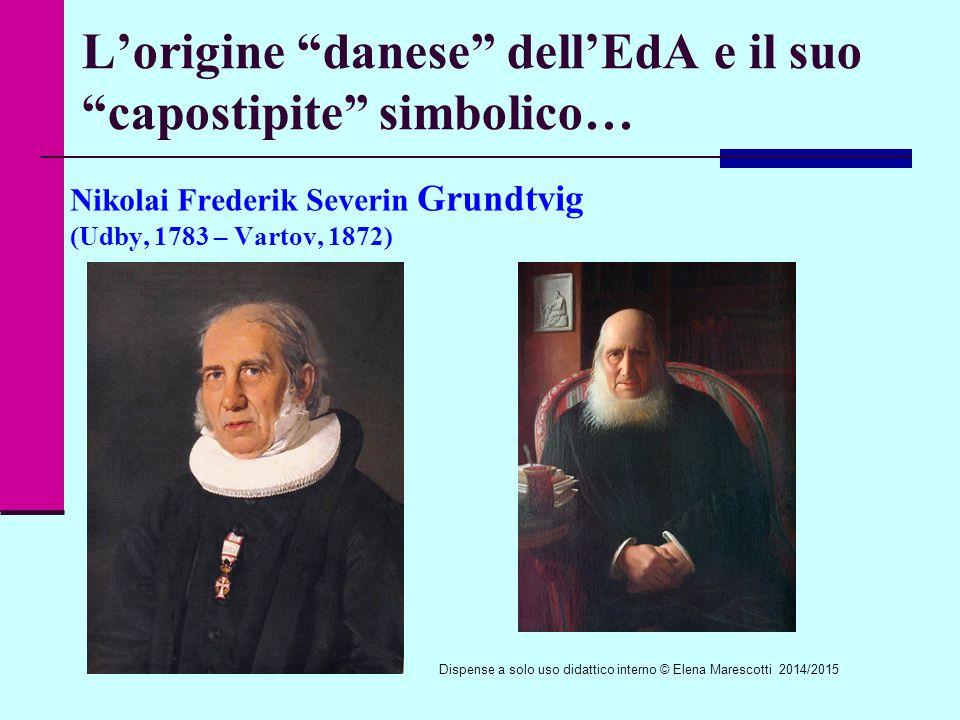 L'origine danese dell'EdA e il suo capostipite simbolico…