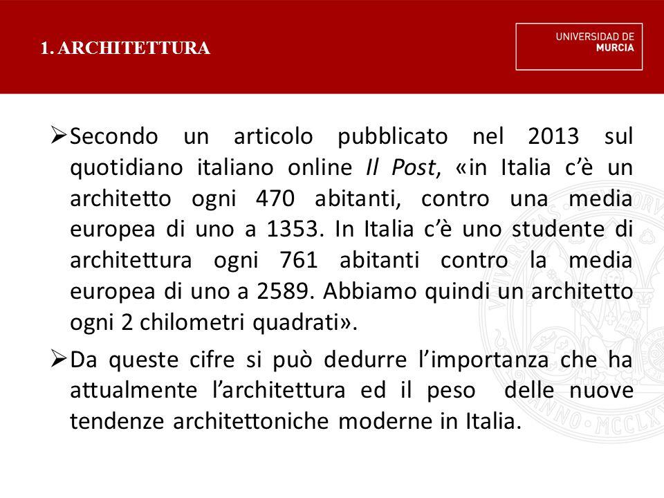 1. ARCHITETTURA