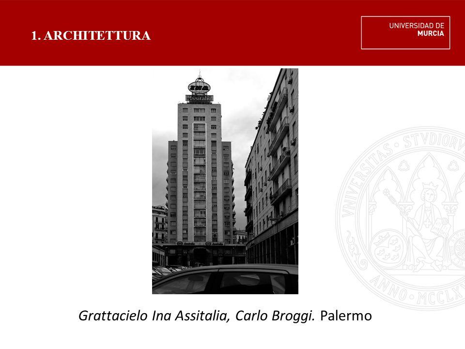 Grattacielo Ina Assitalia, Carlo Broggi. Palermo