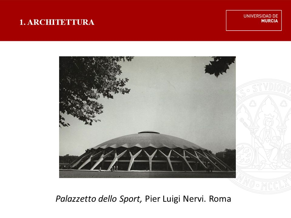Palazzetto dello Sport, Pier Luigi Nervi. Roma