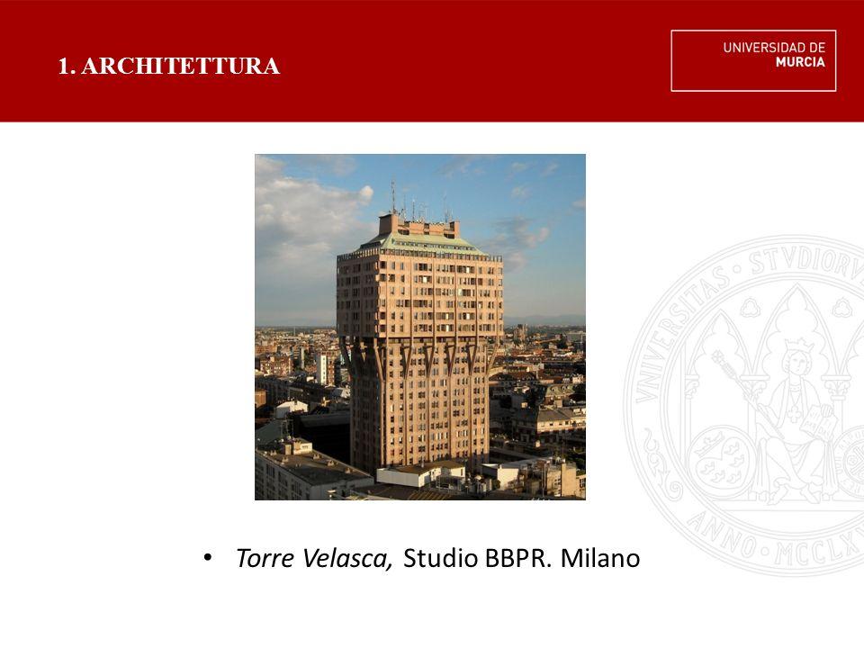 Torre Velasca, Studio BBPR. Milano