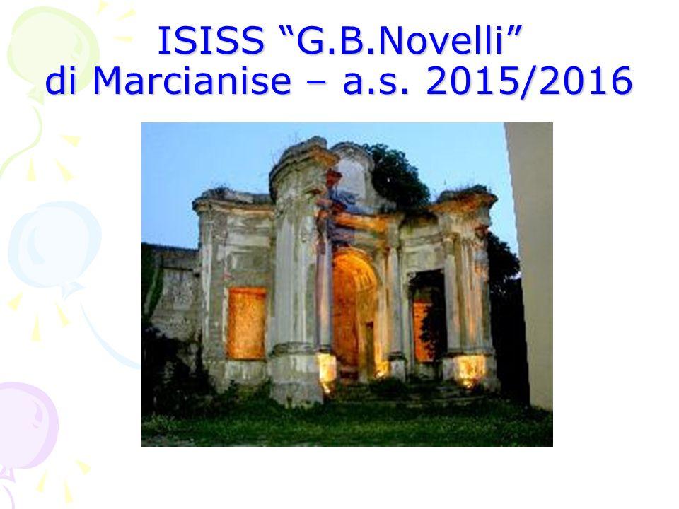 ISISS G.B.Novelli di Marcianise – a.s. 2015/2016