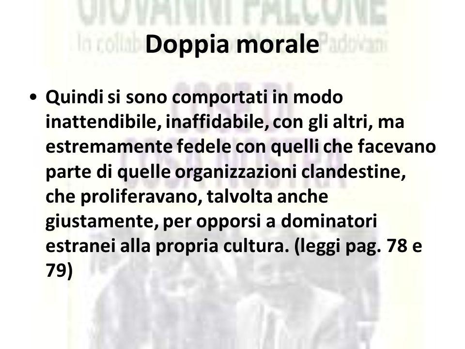 Doppia morale