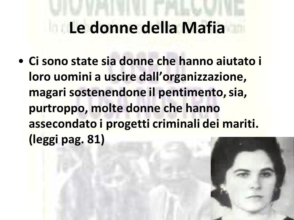 Le donne della Mafia