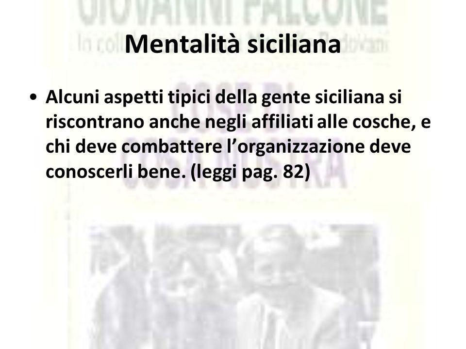 Mentalità siciliana