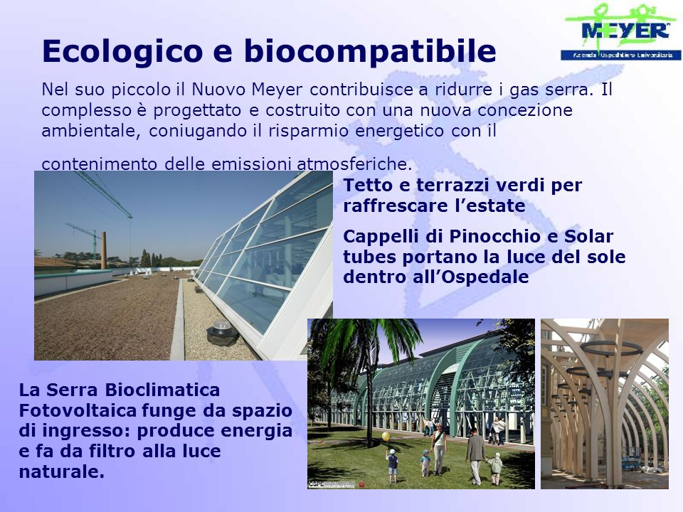 Ecologico e biocompatibile