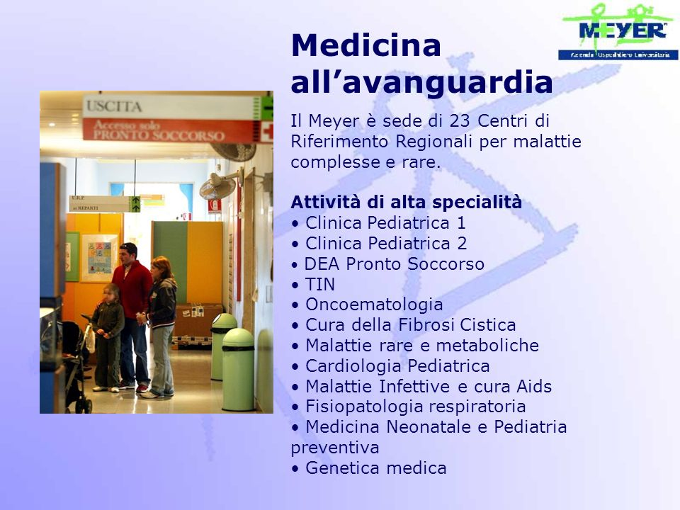 Medicina all'avanguardia