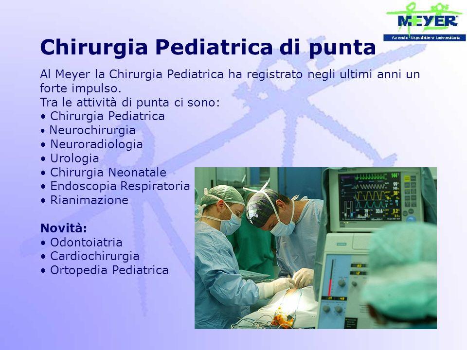 Chirurgia Pediatrica di punta