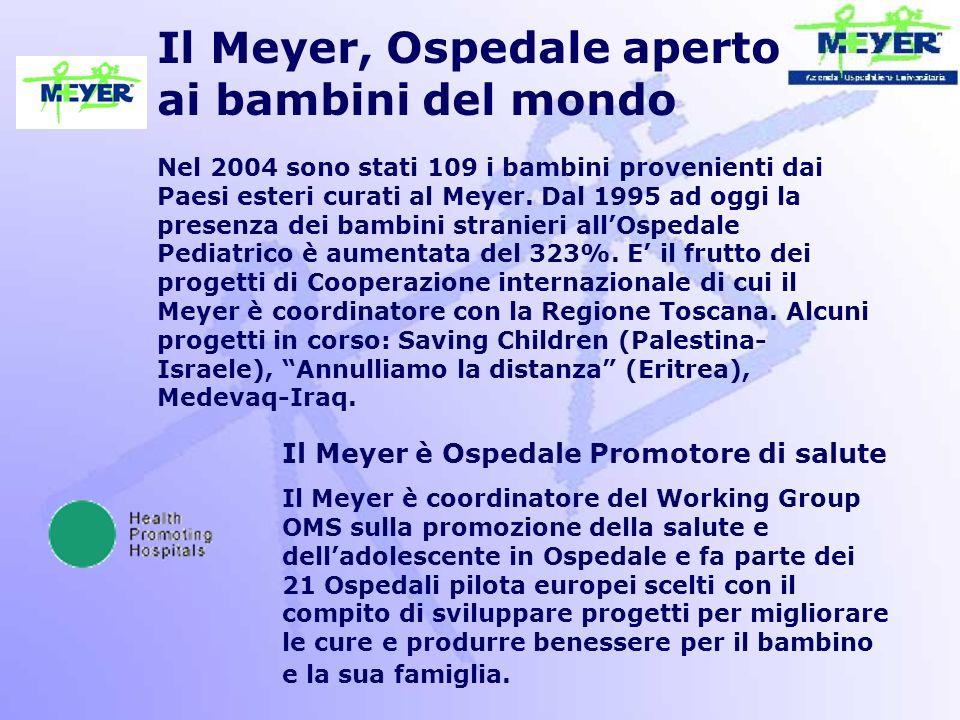 Il Meyer, Ospedale aperto ai bambini del mondo