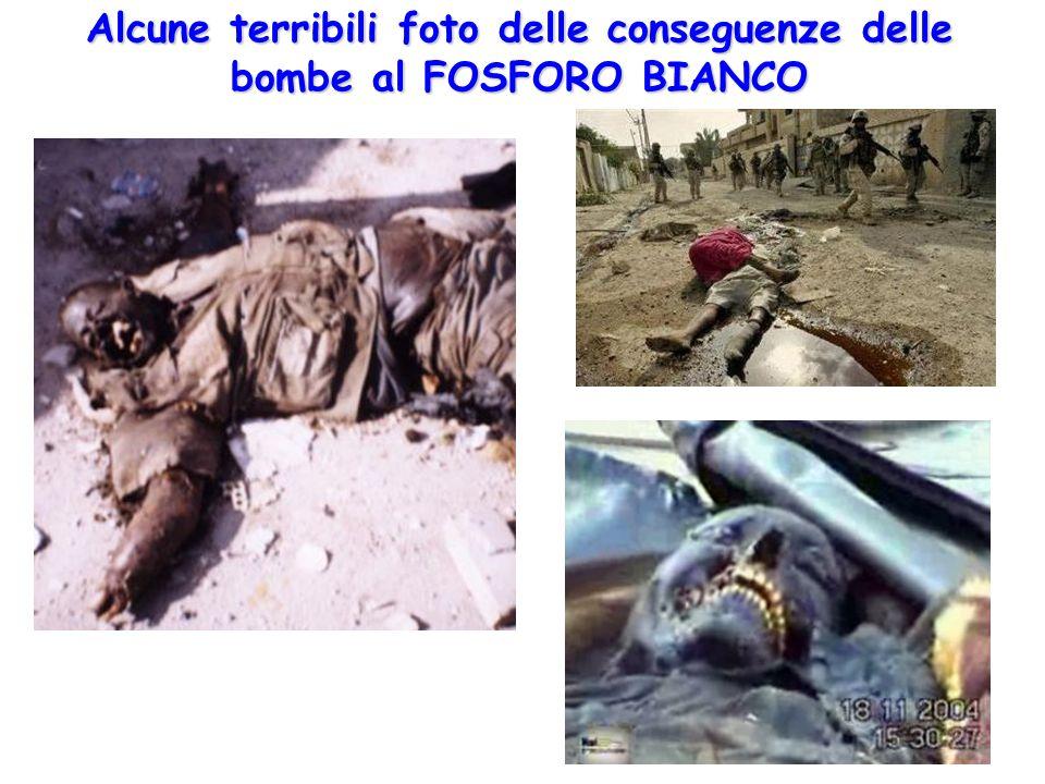 Alcune terribili foto delle conseguenze delle bombe al FOSFORO BIANCO