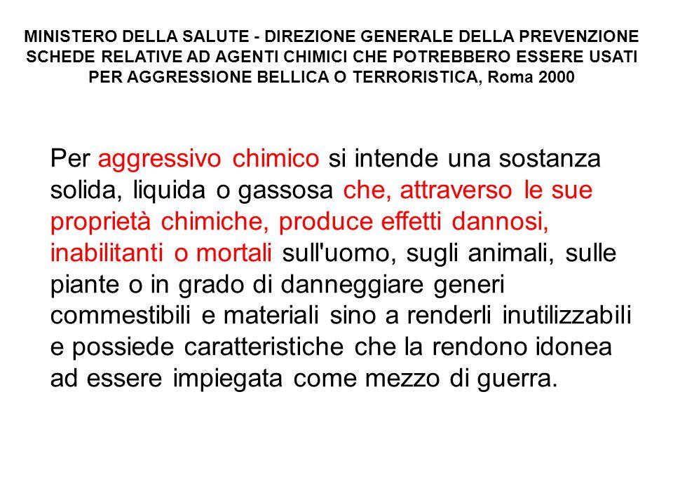 MINISTERO DELLA SALUTE - DIREZIONE GENERALE DELLA PREVENZIONE