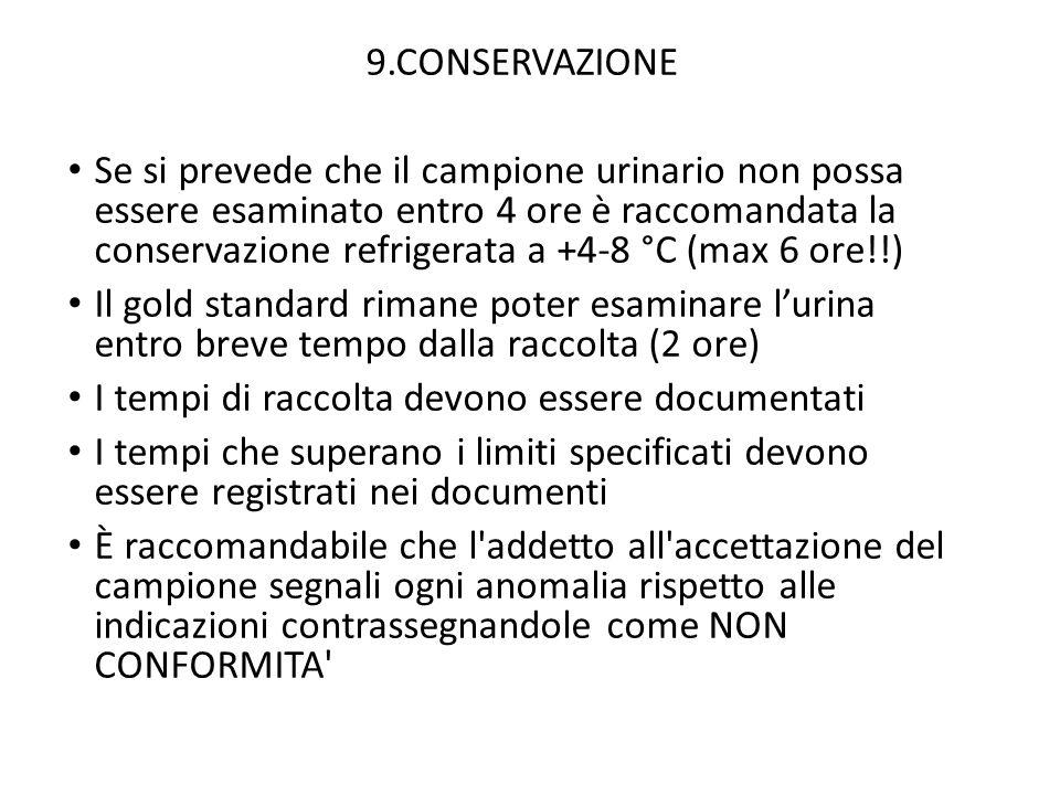 9.CONSERVAZIONE