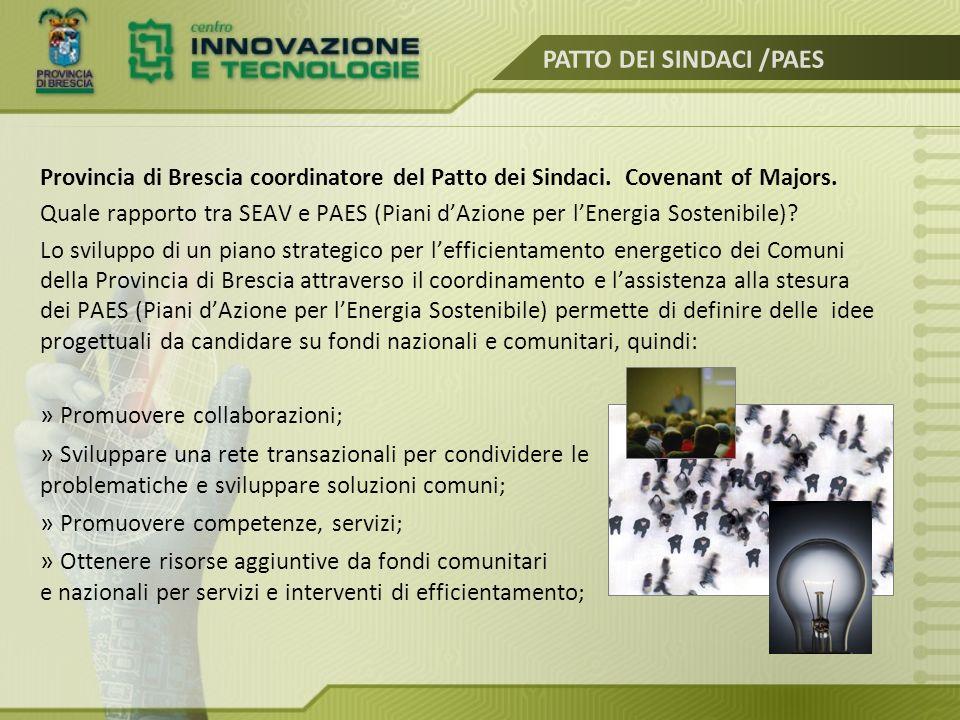 PATTO DEI SINDACI /PAES