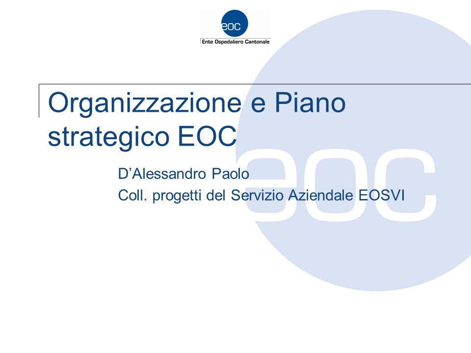 Organizzazione e Piano strategico EOC