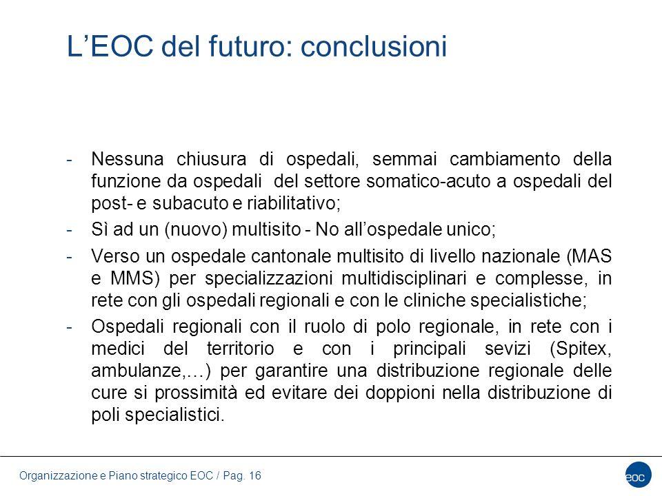 L'EOC del futuro: conclusioni
