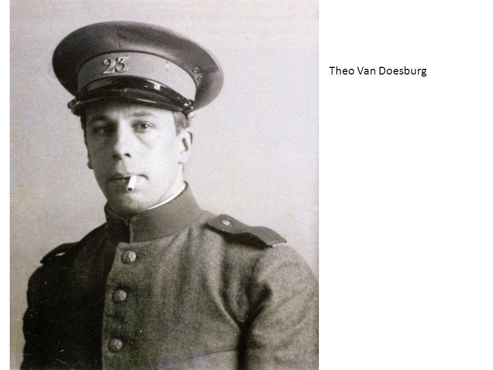 Theo Van Doesburg 1917: Olanda