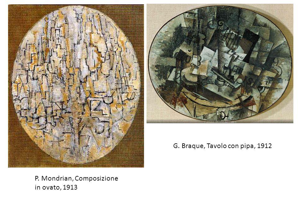 G. Braque, Tavolo con pipa, 1912