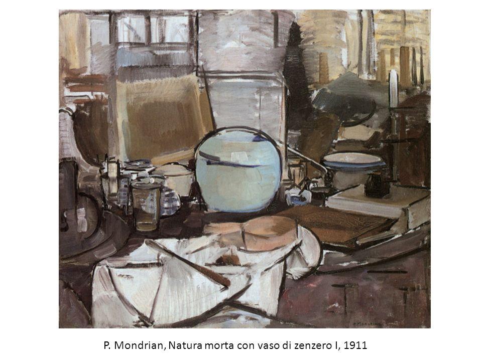 P. Mondrian, Natura morta con vaso di zenzero I, 1911