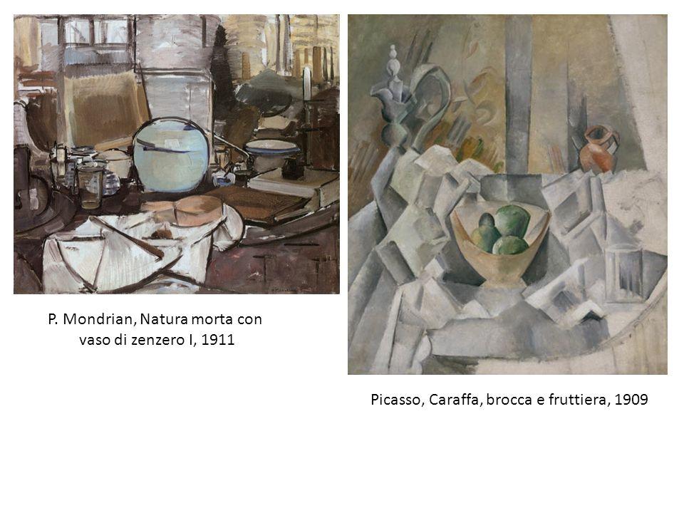 P. Mondrian, Natura morta con