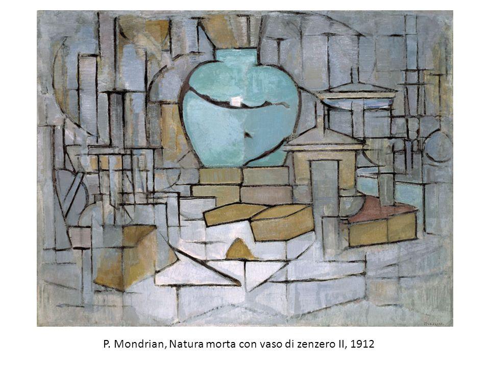 P. Mondrian, Natura morta con vaso di zenzero II, 1912