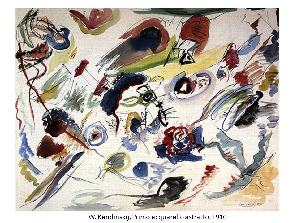 W. Kandinskij, Primo acquarello astratto, 1910