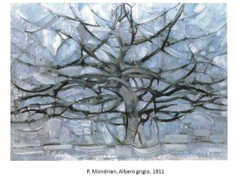 P. Mondrian, Albero grigio, 1911