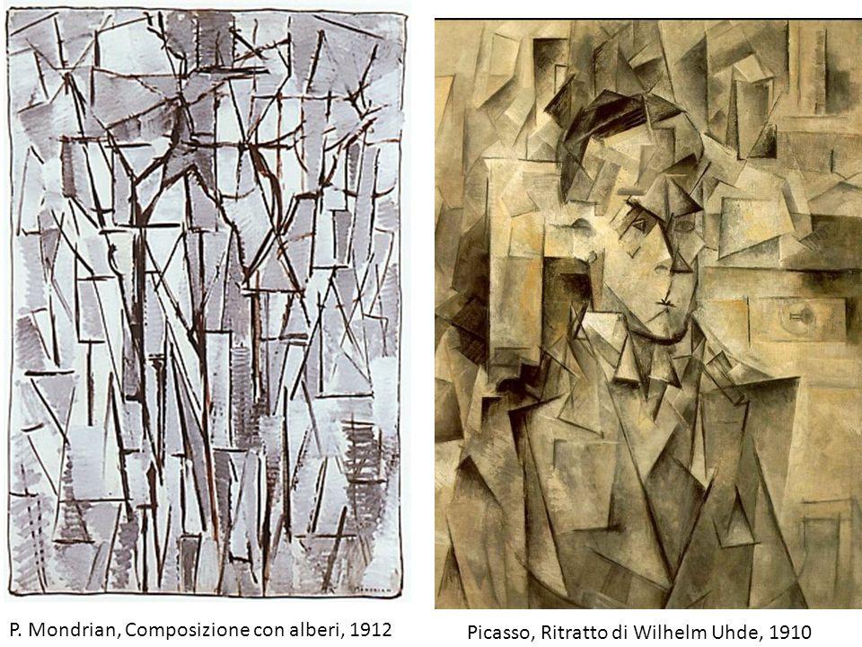 P. Mondrian, Composizione con alberi, 1912
