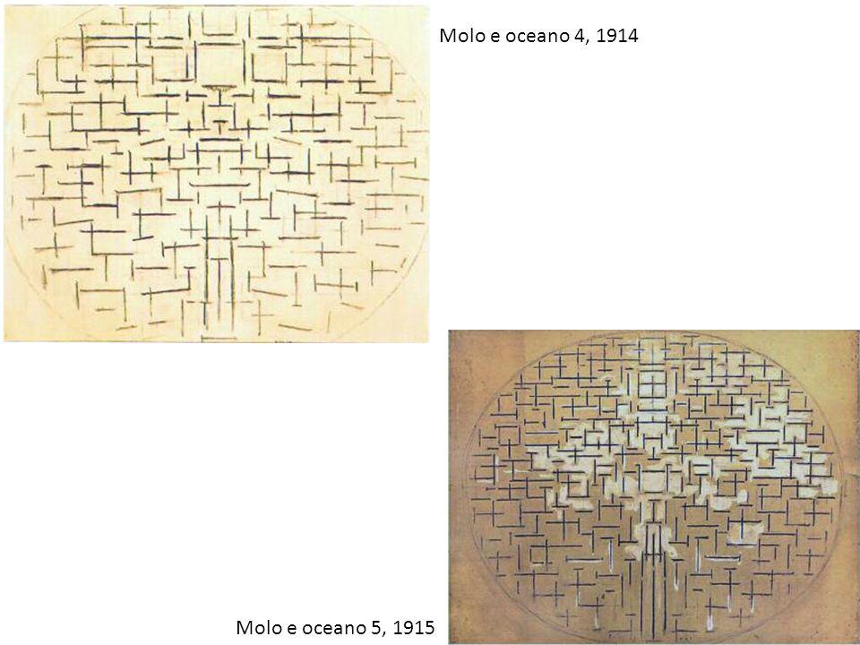 Molo e oceano 4, 1914 Molo e oceano 5, 1915