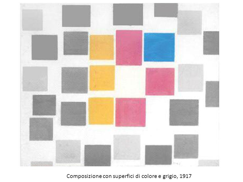 Composizione con superfici di colore e grigio, 1917