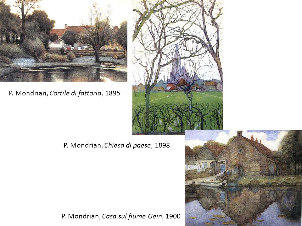 P. Mondrian, Cortile di fattoria, 1895