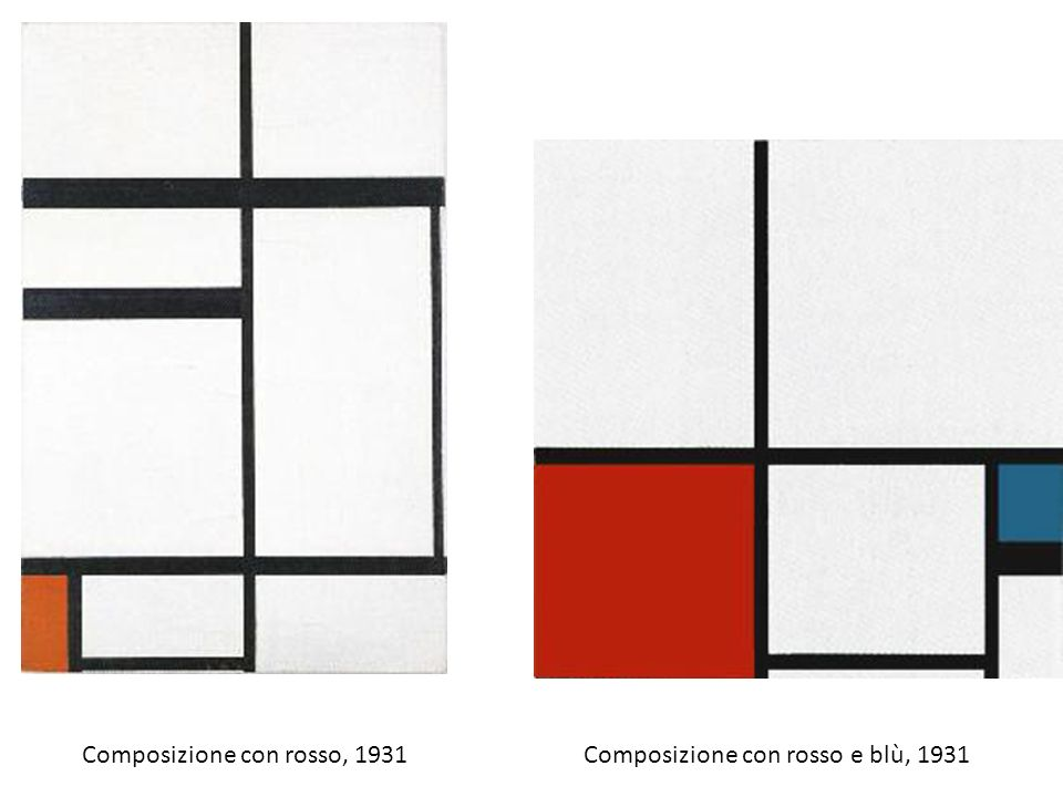 Composizione con rosso, 1931